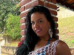 Big booty Brazilian beauty