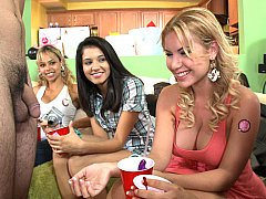 Brandi and her friends having fun