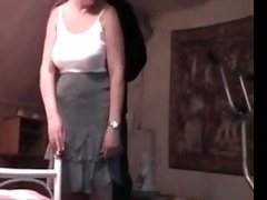 Aged Amateur Woman Licked, Fin...