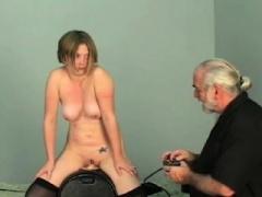 Pleasant sweetie enjoys private moments of amateur bondage