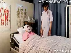 Japanese AV Model Lascivious Nurse Enjoys Her Patients