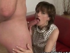 Mature hoe Lady Sonia gets down for some hot action