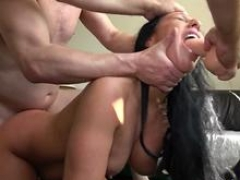 C&i Kayne gets throat fucked & gets a mouth full of cum