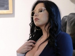 Huge cock student makes love college librarian