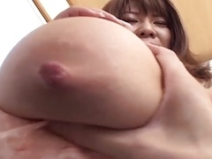 Bigtitted Japanese Handjob