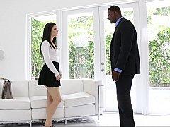 18 летние, Черные, Член, Межрасовый секс