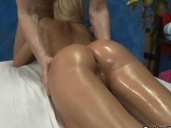 Super hot blonde gal gets