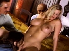 Big-breasted Wife Bang a Stranger
