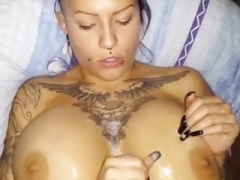 Sexy Tatted Bitch With Big Titties Gets Fucked