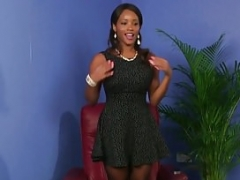 Black boobalicious british beauty facialized point of view
