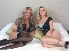 Heather vandeven and samantha saint real gal-on-chick ravage-a-thon