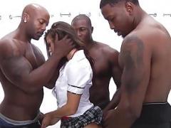 Анальный секс, Красотки, Большой член, Межрасовый секс, Жесткий секс