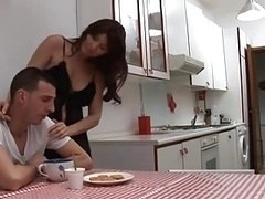 sexy italian mom and also boy (ita)