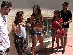Chica, Grupo, Dinero, Fiesta, Piscina, Público, Coño, Realidad