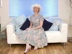 Aged Housewife Fucks A...
