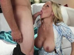 Bigtitted sexually available mom pussy pounded