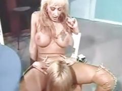 Pornoluver,s classic Lez 4some
