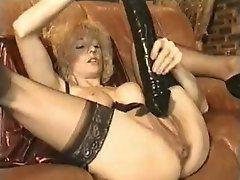 Grand ma used some wild sex vibrator