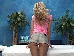 Amanda stripping to suck
