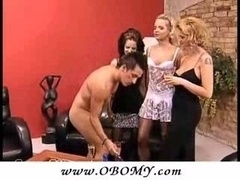 Kinky Dude Doing 3 Kittens With Rev...