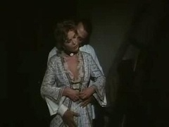 Vintage maid makes love the fella of the house