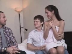 Cocu, Européenne, Russe, Adolescente