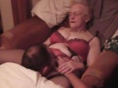Granny Jean Gets Some Ball cream