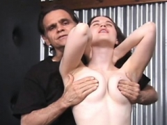 Bondage domination sadisme masochisme, Brunette brune, Fétiche, Nénés