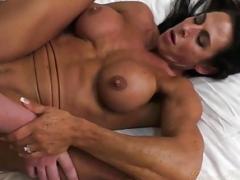 Dame Bodybuilder Gets down and dirty Her Boyfriend Briana Beau