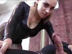 Fesselspiele, Weibliche domination, Masturbation, Sklave