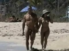 Strand, Im freien, Öffentlich, Spanner