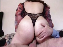 French Hairy Brunette For  1st Rectal
