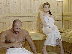 Erstaunlich, Tussi, Europäisch, Muschi, Russisch, Sauna, Rasiert, Titten