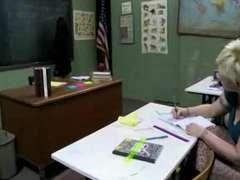 Teacher Lisa Ann Screws a Nasty Spit-Filled Student