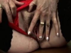 A sinful big masturbates and furthermore rides