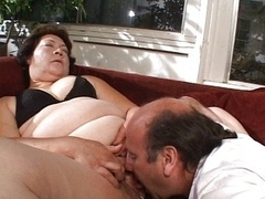 Couple licking and additionally fucking