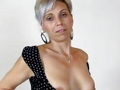Sexually available mom twat licking with amateur wife Beate