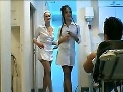 3-way Nurse Handjob