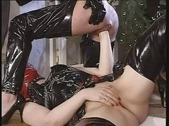 Excess In Gold Pt3. Latex Fistin...