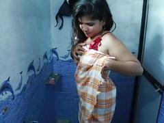 浴室, ビキニ, インド人