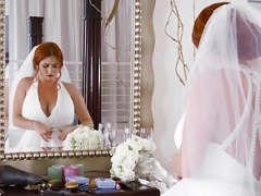 Brazzers - Brazzers Exxtra - Dirty Bride section starring Lenn