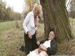 Handjob Granny