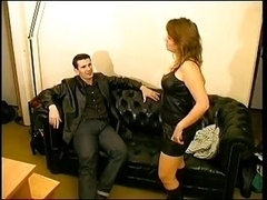 French Mature Anal Casting