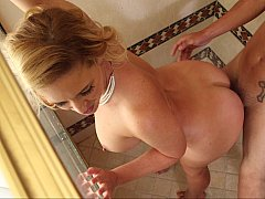 Hot MILF driven nuts with young meat