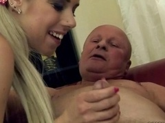 Grandpa fucking with cute 18-19 year old