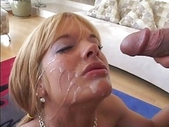 Good-looking GiGi's Sexy BJ With Massive Facial