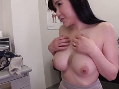 Boobalicious Miu Watanabe gets working with a very stiff cock
