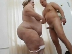 ssbbw gets down and dirty after her housework