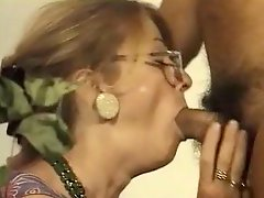 Milf in Pantyhose and as well Glasses Blows off and as well Has an intercourse