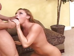 Wonderful Blonde Lauren Phoenix Anal Mounting Hard Cock